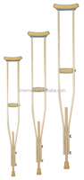 adjustable wooden crutches