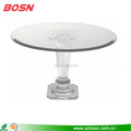 clear round lucite table acrylic coffee table