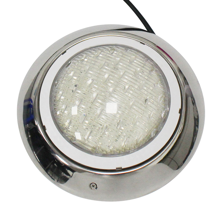 waterproof ip68 12v rgb par56 ip68 led surface mounted swimming pool light