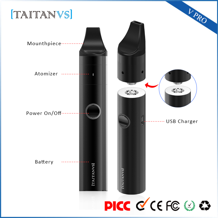 Best selling original buddy variable voltage ceramic heating e cig wax vaporizer bbtank