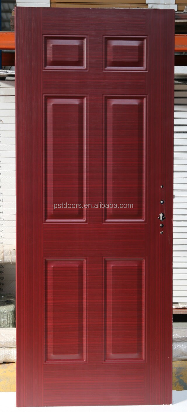American steel door without Glass