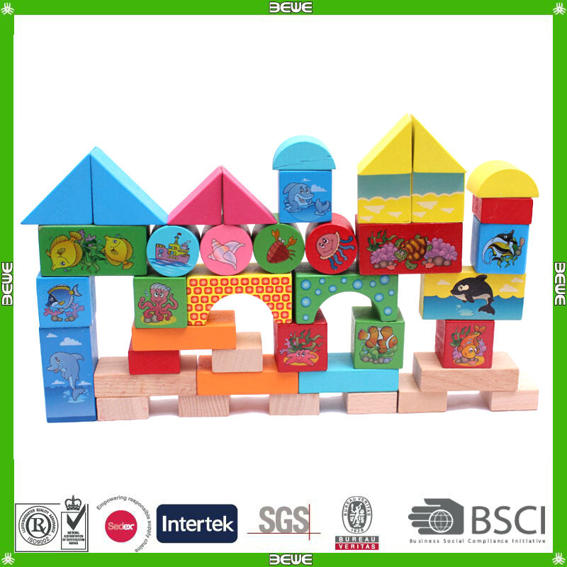 kids' promotional color building blocks factory
