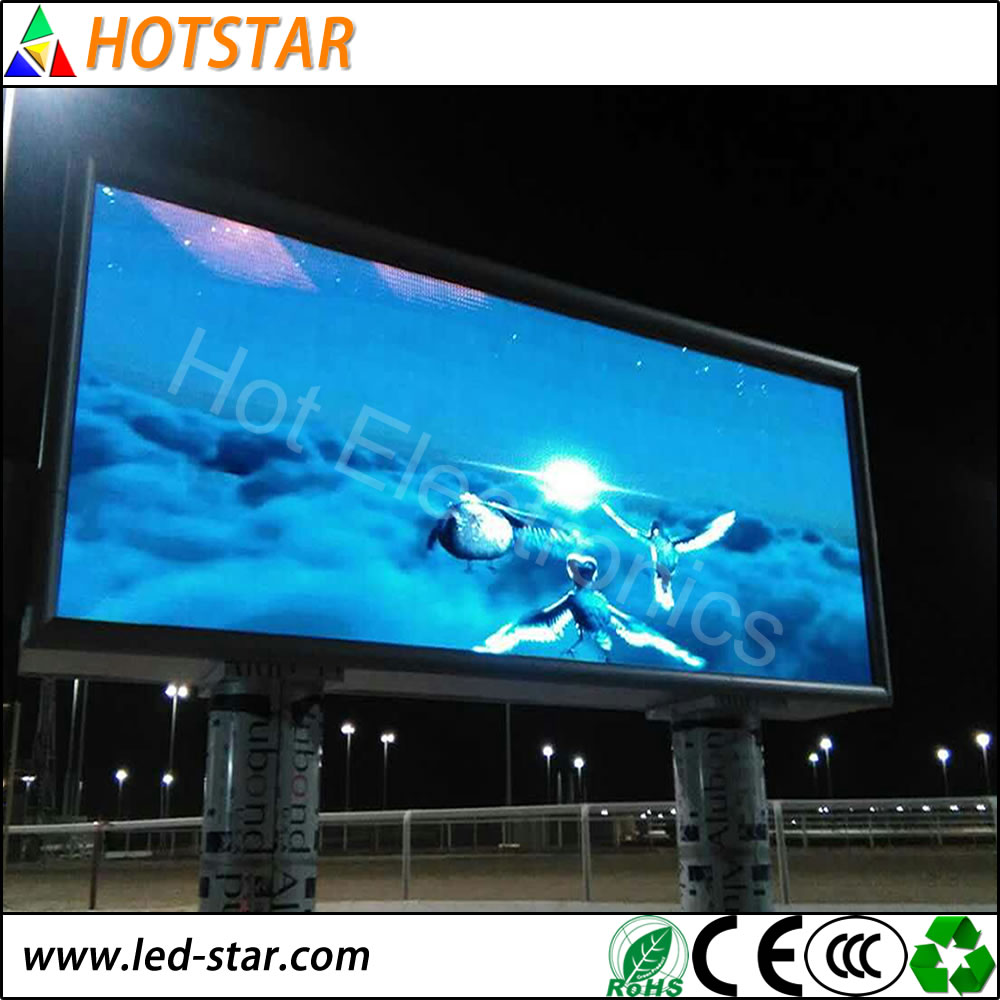 High Definition 32x32dots SMD3528 P6 Outdoor moveable LED Screen