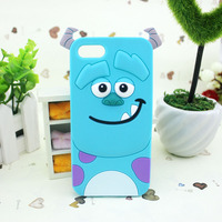 Customized silicone armor rubber case for iphone 5