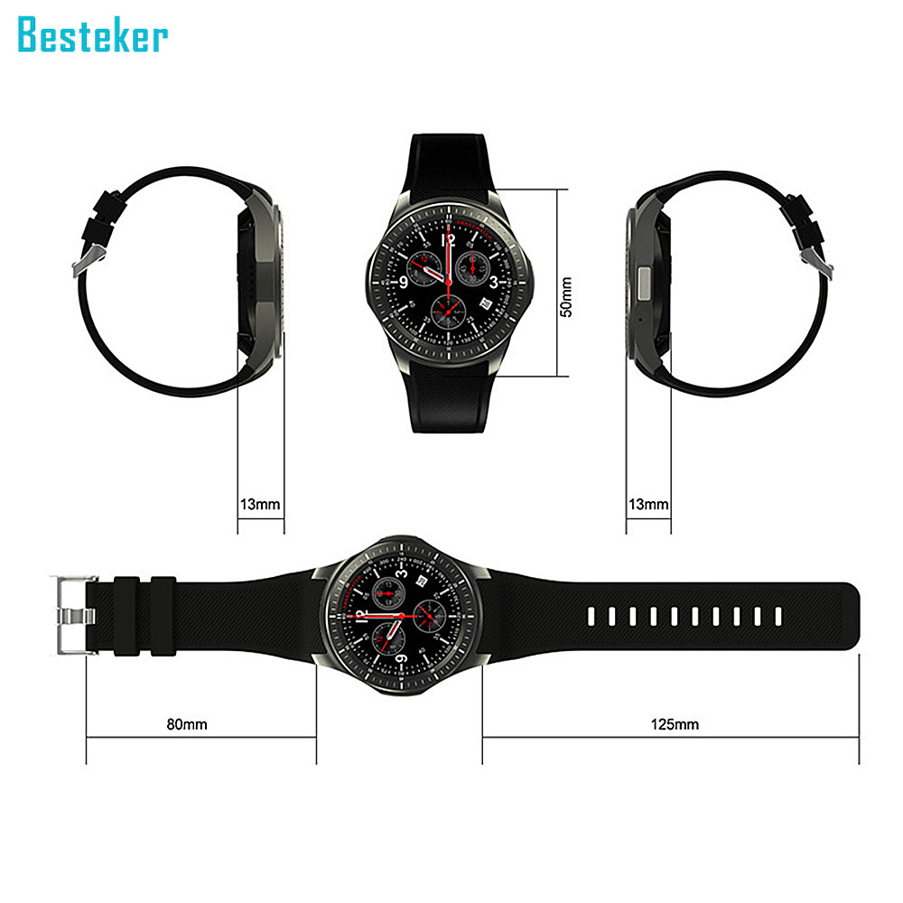 "Professional Manufacturer 1.39"" AMOLED whole round HD 2G 3G support Smartwatch Phone"
