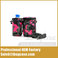 Stylish Outdoor Camouflage Waist Bag With Camera Bag