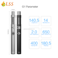 hot ecig G1 kit vaporizer Subohm 0.5ohm vape pen LSS small kit g1 vaporizer