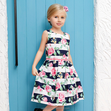 Candydoll Latest Design <strong>Dress</strong> for Party or Wedding 2017 New Brand <strong>Dress</strong> Flower Printing <strong>Girl's</strong> <strong>Dress</strong>