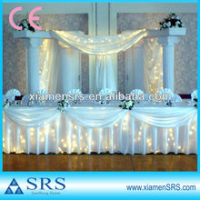 Beautiful decorative wedding pillar