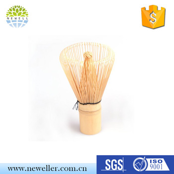 alibaba china suppliers 80 prongs japanese matcha wisk with packaging