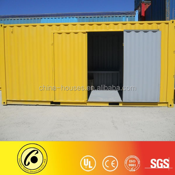 customized cut door 20ft container