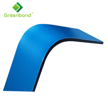 Greenbond PE coated acp design cladding aluminium composite panel sheet price in kerala