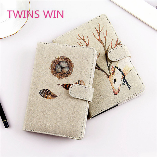 OEM ODM Customizable Wholesale Malaysia 2019 new cute leather cover design diary planner notebook for school supplies 1082