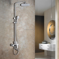 Bath and Shower Faucet with Combination