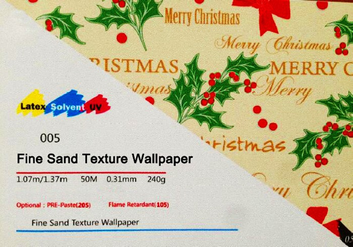 Decorative printable wall paper, wall covering paper