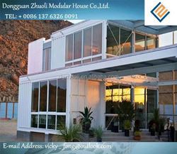 Modular prefab home kit price,low cost shipping containers price india