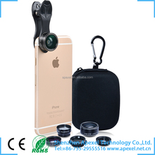 ptical glass mobile phone accessories new clip attachable mobile cover lens kit