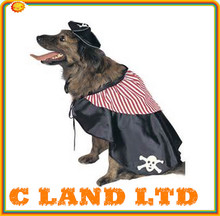 cool pet costumes for dogs Pet Clothe cosplay pirate Dog Clothes