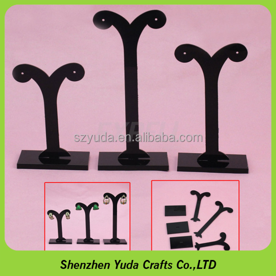 China supplier custom made tree jewelry display stands acrylic