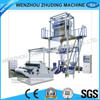 Two colors Two Layers co-extruding cling film blowing machine
