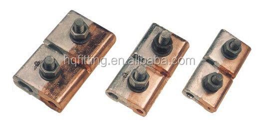 Bimetallic parallel groove clamp/PG clamp