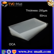 TVC MALL 50pcs OCA Optical Clear Adhesive Double-side Sticker for Samsung i9000 Galaxy S LCD Digitizer
