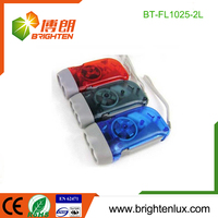 Factory Bulk Sale Cheap Price Small Mini led Bright dynamo flash light
