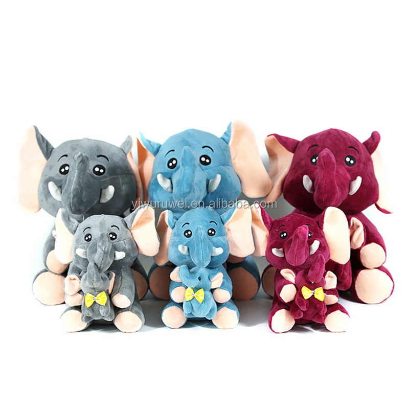 Manufacturers wholesale new plush toys elephant doll large imitation child like dolls Valentine's Day birthday gift