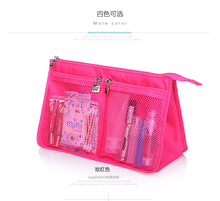 2016 New Model Lady Red Eco Beauty Cosmetic Case Gangle Travel Wash Bag