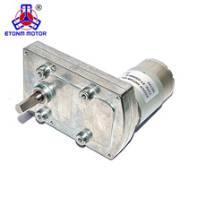 high torque flat dc gear electric motor for roast machine