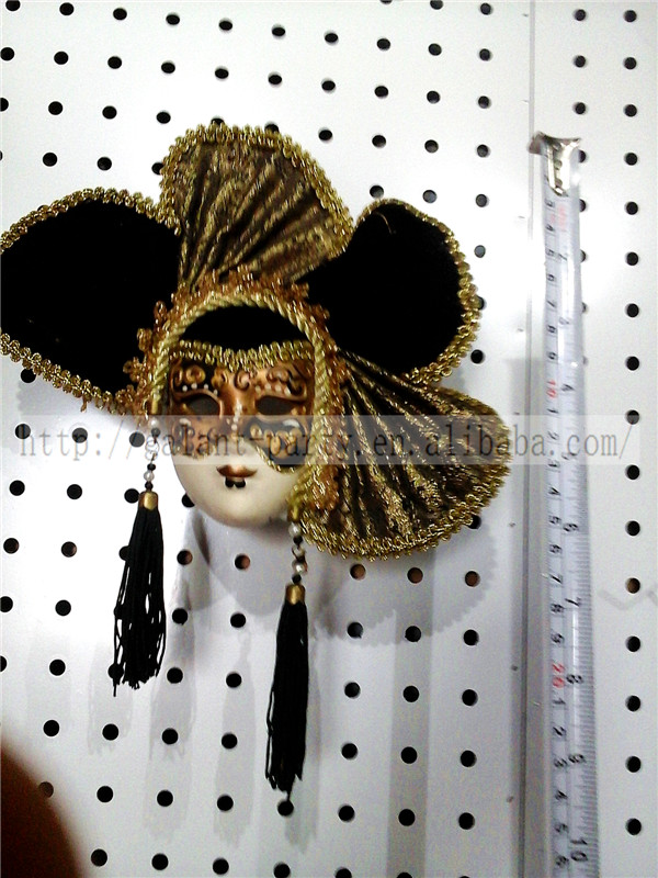 Factory 2014 and latest red magnet field masquerade creative colored toy mask refrigerator or door magnet decoration