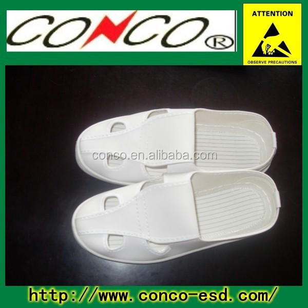 antistaic esd slipper shoes