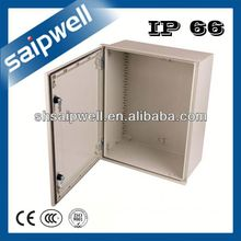 FIBER REINFORCED POLYESTER WITH GLASS UL94-HB POLYPROPYLENE BOX