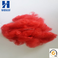 3DX64MM Recycled Polyester Fiber Red Color