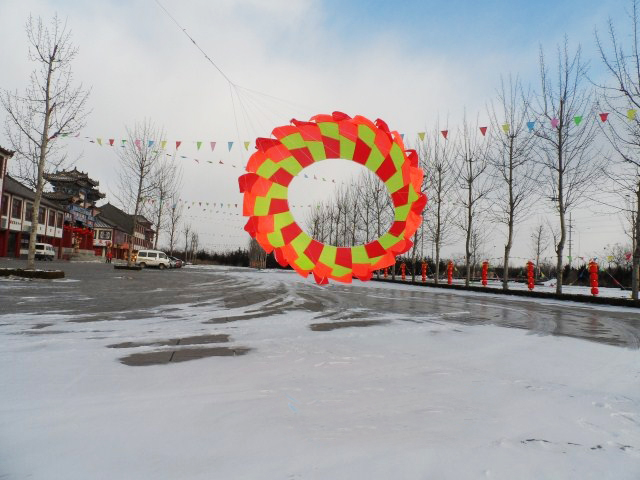 Chinese new design hot sale rainbow wing kite from the kite factory