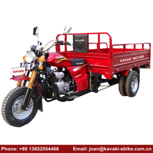 Cheap Price 4 Wheel Exhaust Motorcycle Cargo Five Wheel Commercial Tricycle Bike Mobility Petrol Scooter Tuk Tuk
