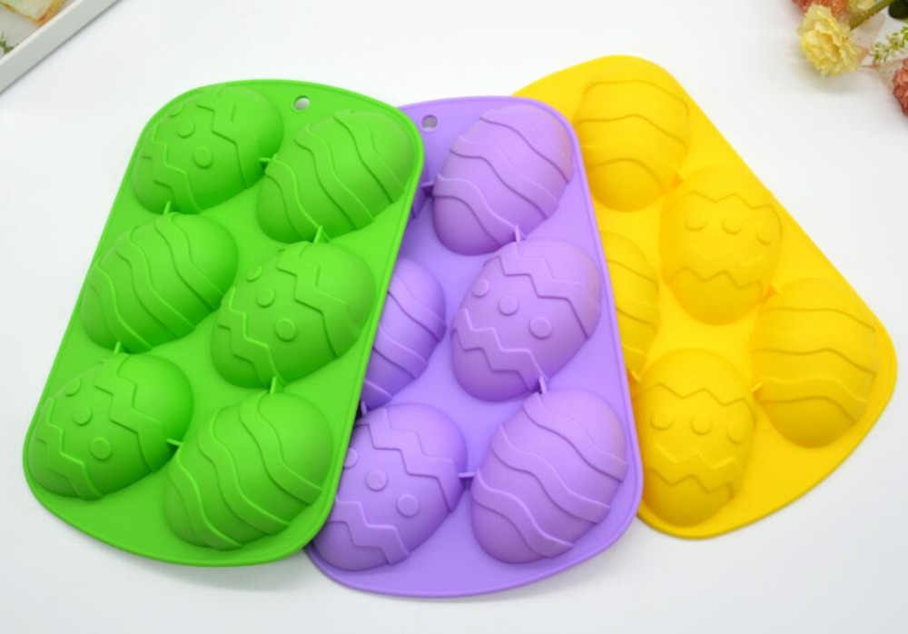 Fancy Safe Silicone Easter Egg Cake Mold