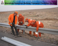 The lowest high quality galvanized prices company guardrail highway guard rail galvanized guardrail