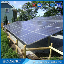 High quality solar panel cover glass thickness poly 100wp 18v pv modules