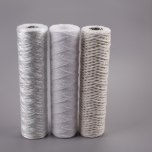 10&quot; glass fiber string wound filter cartridge for liquid <strong>filtration</strong>