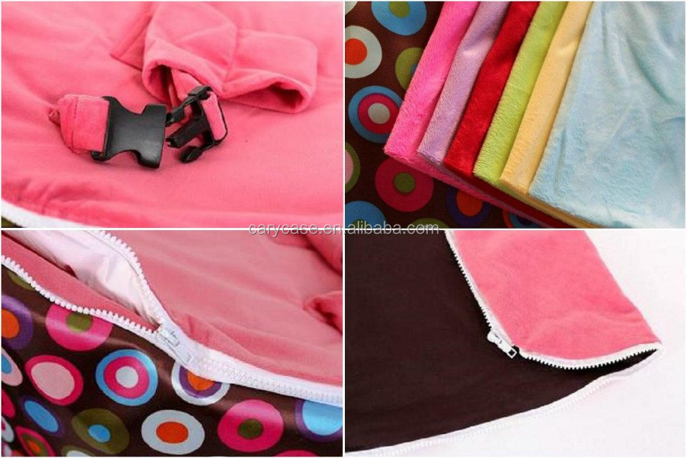 Dicojelly Polka Pink seat baby harness bean bag chair , 2 upper tops beanbag sofa seat