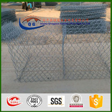 Philippines wire mesh gabions/pvc gabions/wire cages filled with rocks