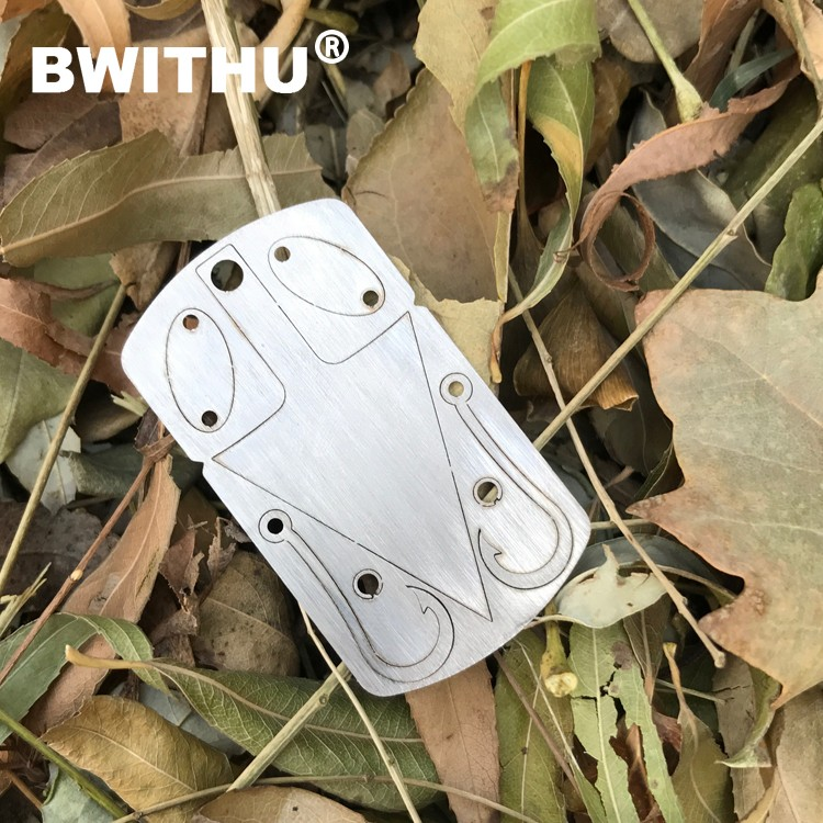 Wholesale 2017 new design high quality 3 in 1 mini size tool card portable survival card