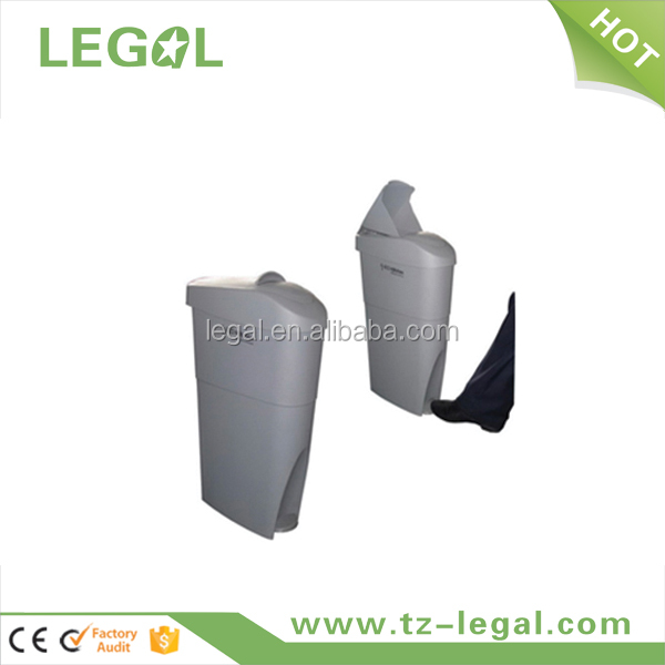 foot pedal dustbin lady toilet can advertising sanitary bin with competitive price
