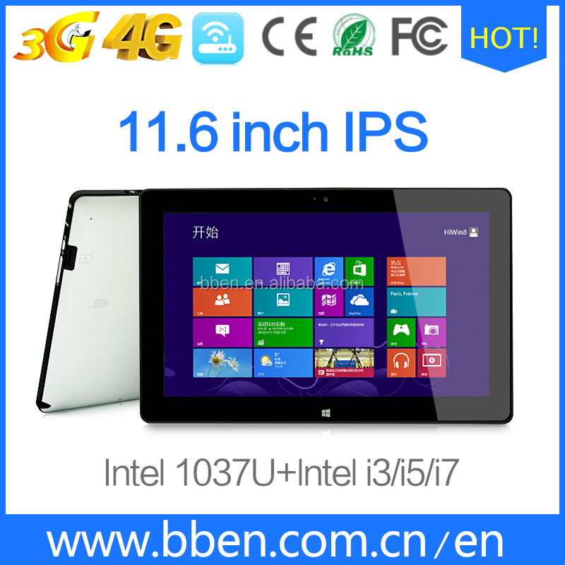 Factory price 4G LTE windows tablet pc with electromagnetic screen intel i5/i7