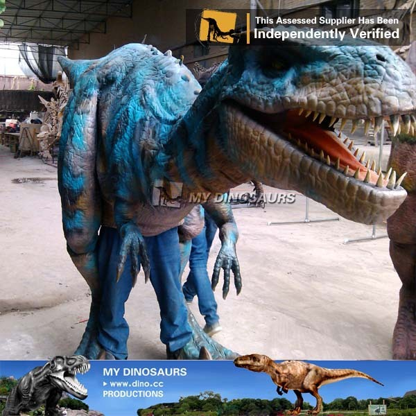 MY Dino AD-0657 Hot Sale Robotic Artificial Dinosaur Costume