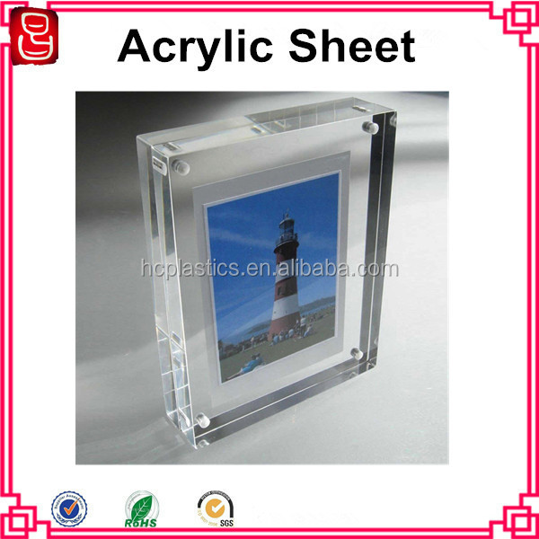 factory acrylic photo frames 5x7,double sided acrylic picture frames,acrylic magnetic photo frame