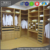 Customize modern master bedroom walk in closet design plywood high quality