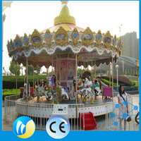 new product amusement park ride merry go round horse for sale from China