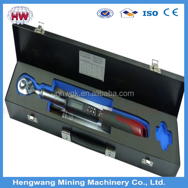 Electric torque wrench digital torque wrench
